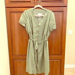 Motherhood Maternity button down dress
